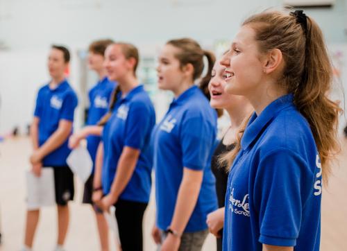 SilverLee Students Singing